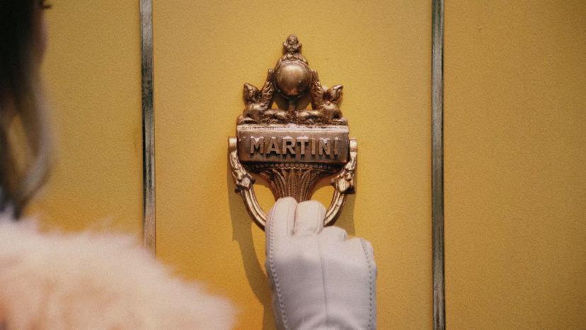 "BACARDI MARTINI ""door"""